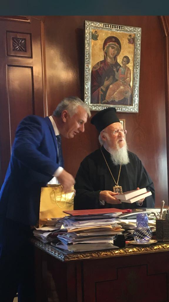 Eidiseis Sxolia Anatolits Episkepsi Oikoumeniko Patriarxeio ph02